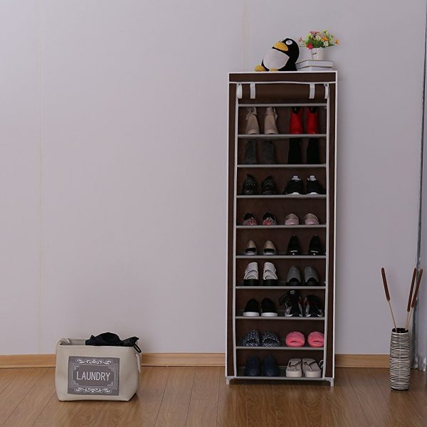 10 tires Shoe Rack LeelineSourcing