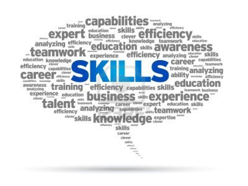Requirement of Skills