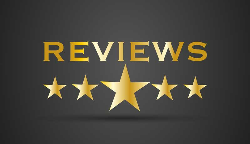 Rely on customer reviews
