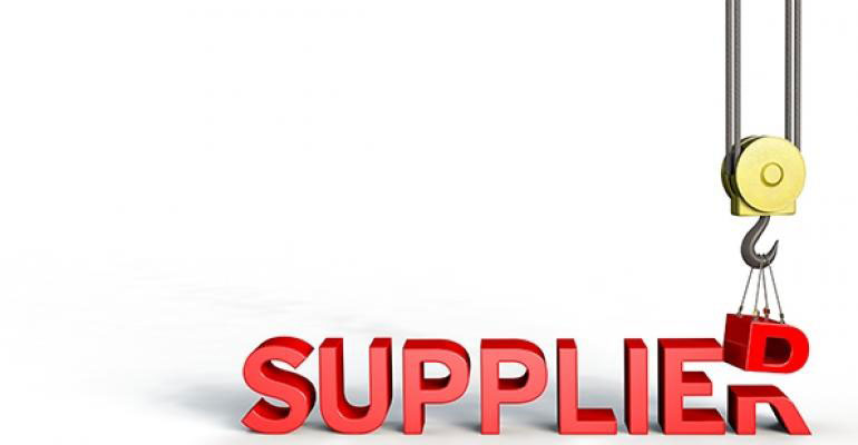 Selecting a supplier