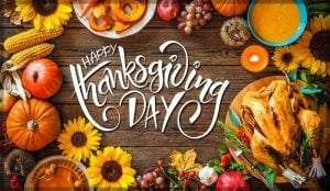Thanks giving Day 2018