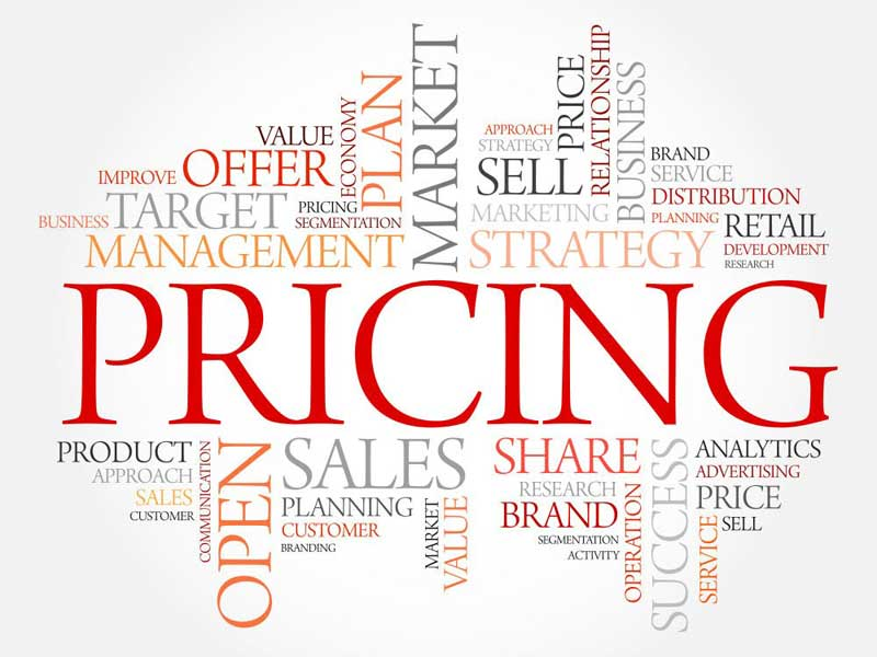 The price is significant too high a price will drive away most customers