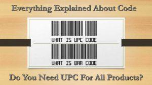 Unіvеrѕаl Prоduсt Barcode Cоdе
