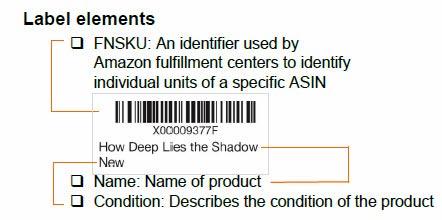 FNSKU-label