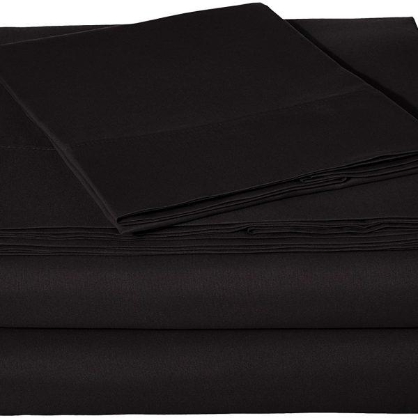 100 Egyptian Cotton Sheets White Twin Sheets Set 800