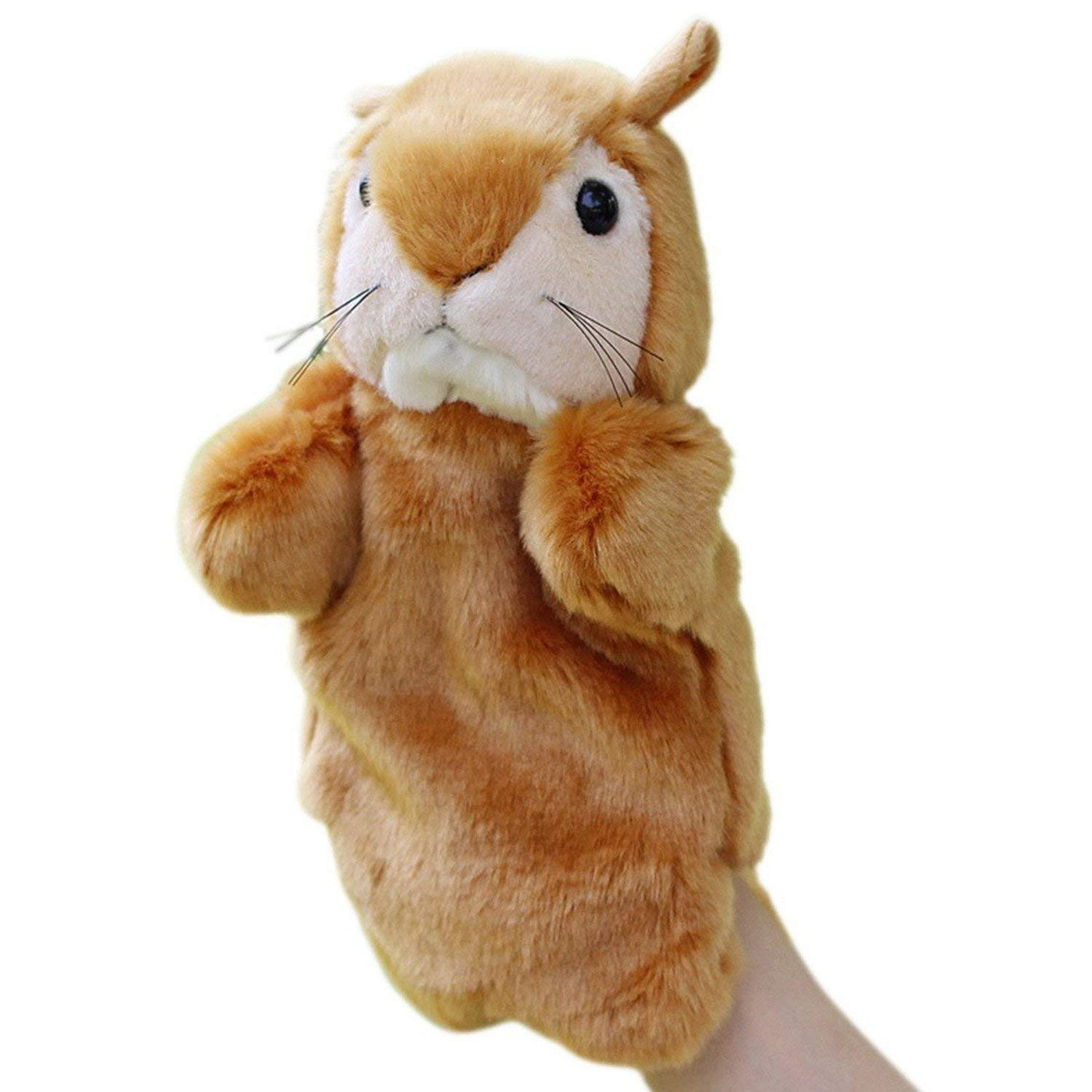 Monkey Dolls Hand Puppet Child Plush Puppets Anima Story Stuffed Toy Role Boys