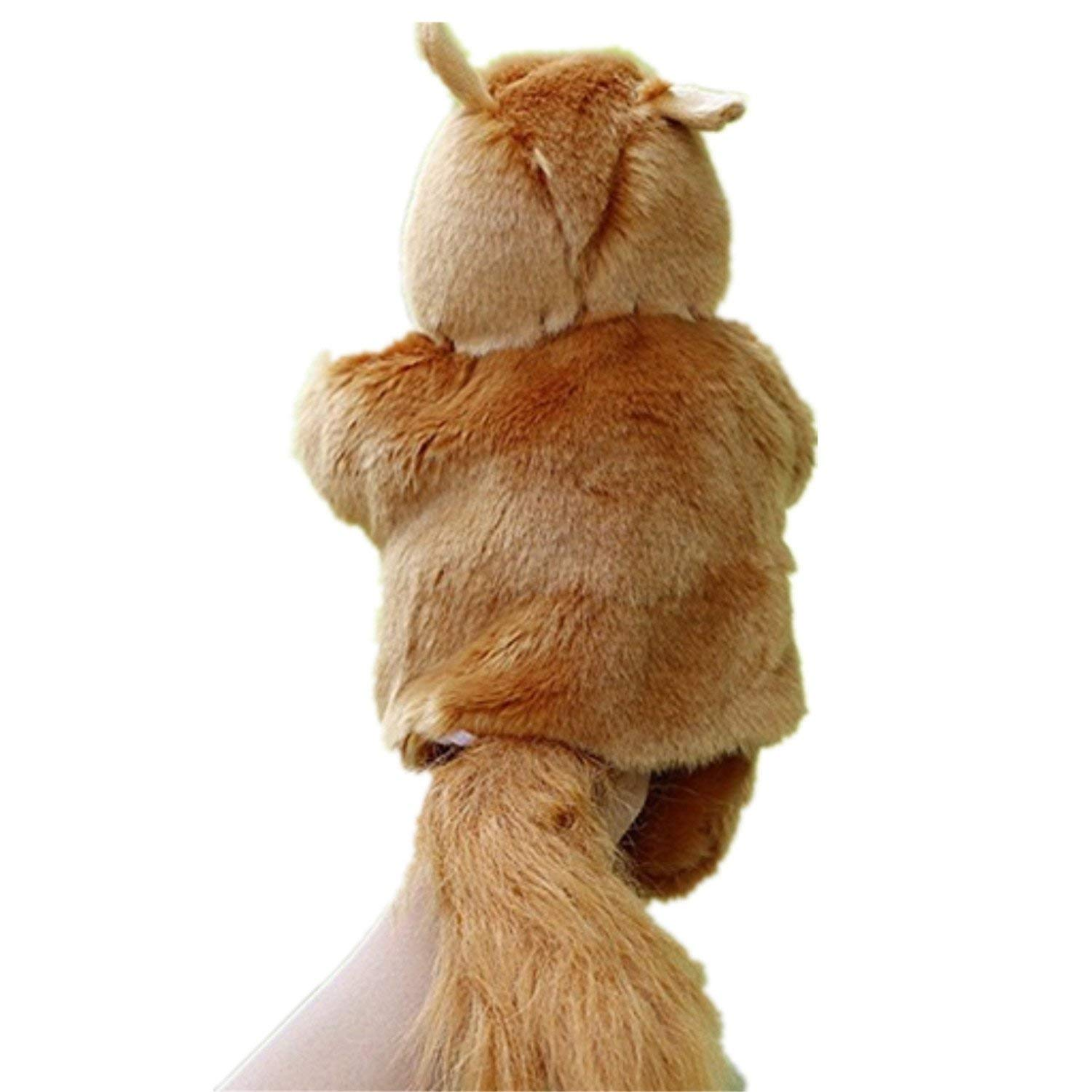 Soft Plush Animal Puppets Hand Glove Puppet Kids Story Telling Props Toy