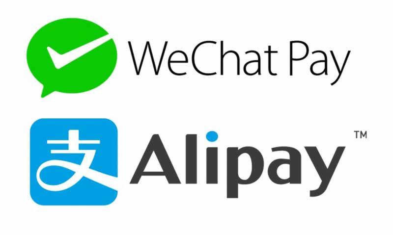 webchat alipay