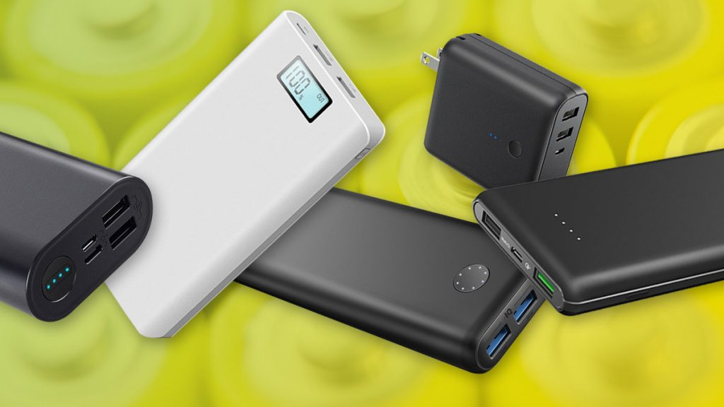 batteries, power banks, cells, chargers and more.