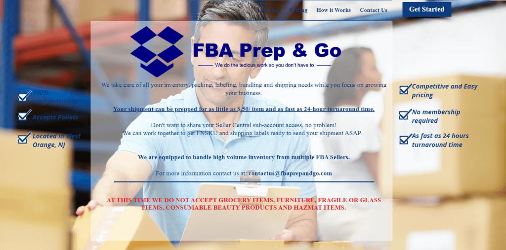 FBA Prep & Go