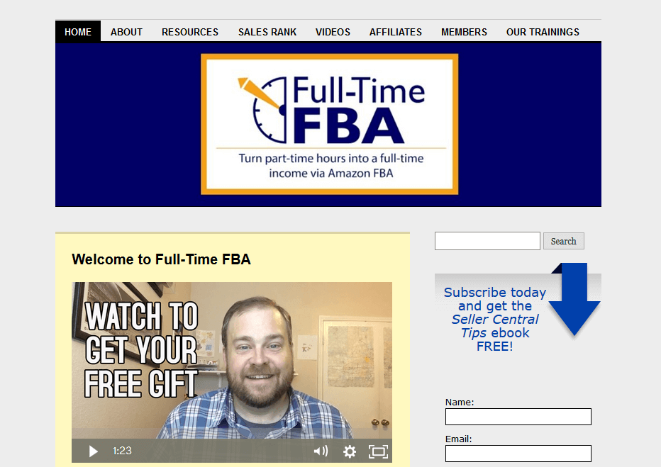 Full-Time FBA