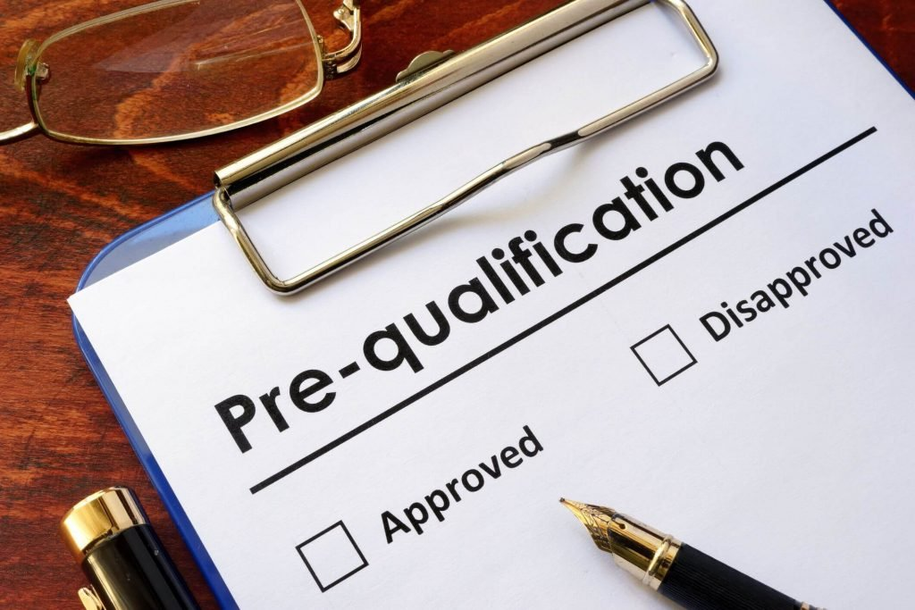 Product Pre-Qualification