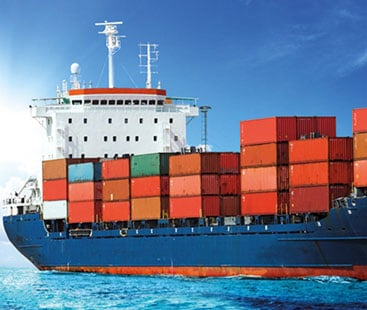 Shipping goods by sea