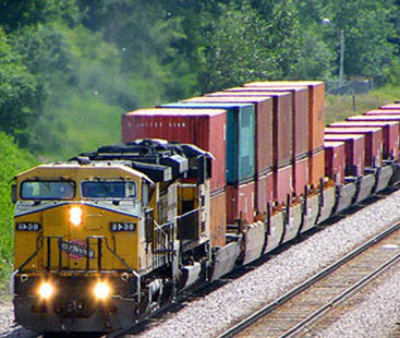Rail Freight Shipping