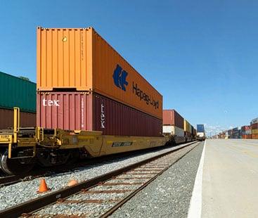 railway transportation is a more reasonable logistics transportation method