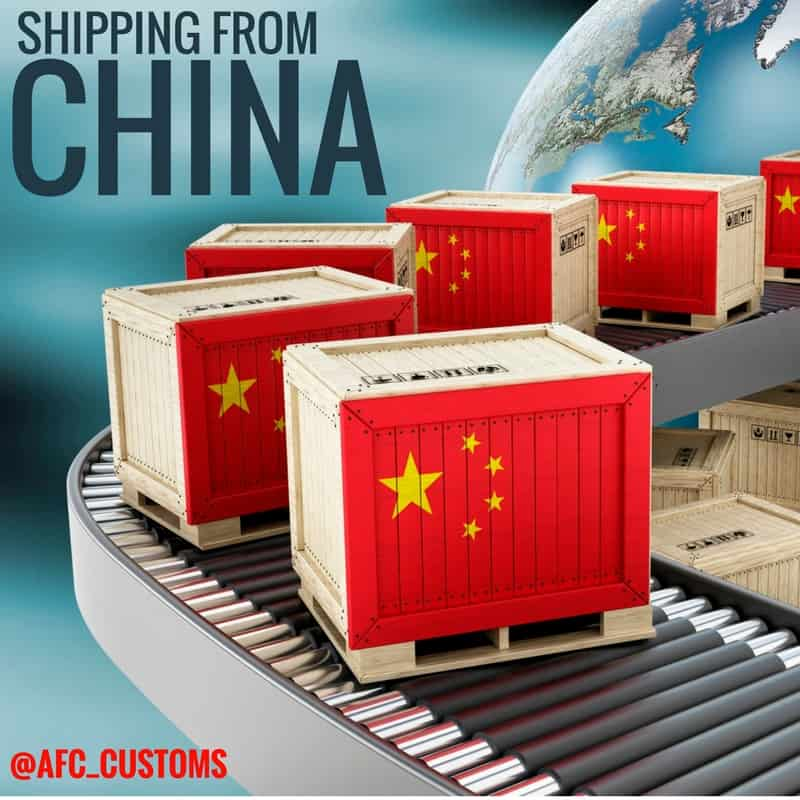 shipping from china
