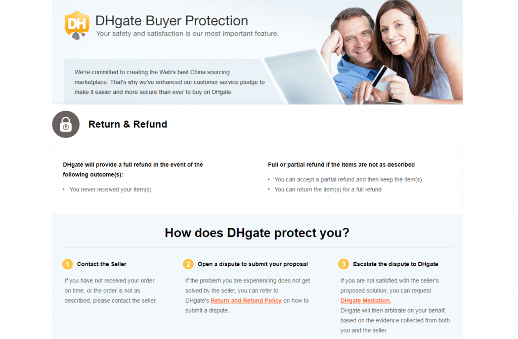 DHgate Buyer Protection