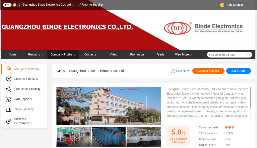 Guangzhou Binde Electronics Co., Ltd.