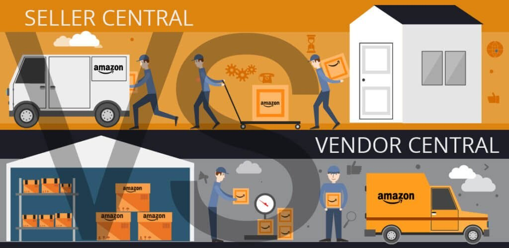 How is Amazon Vendor Central different to Seller Central