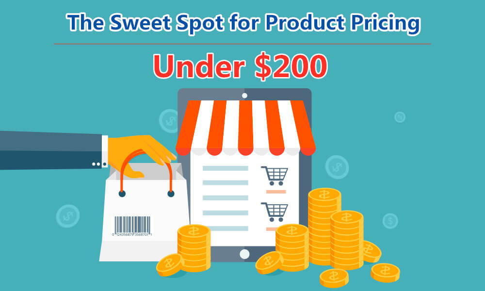 Under $200 Is the Sweet Spot for Product Pricing