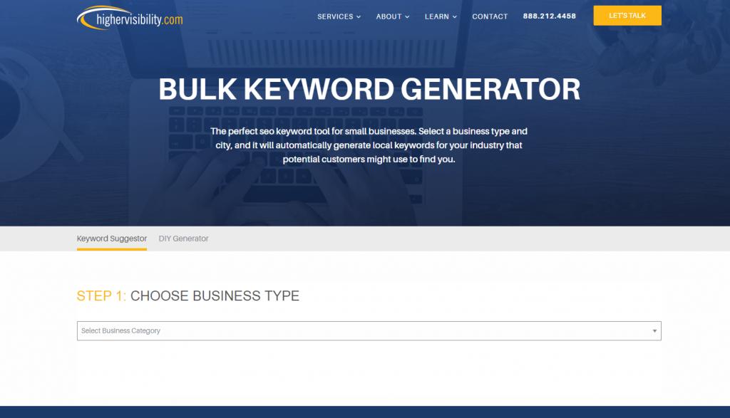 Bulk Keyword Generator