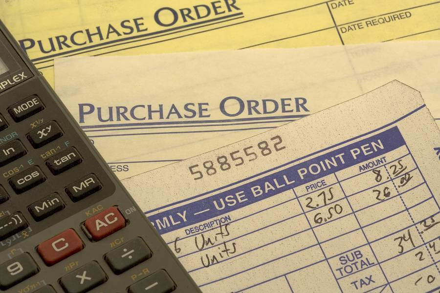 Keep Organized All Of The Purchase Order And Shipping Paperwork