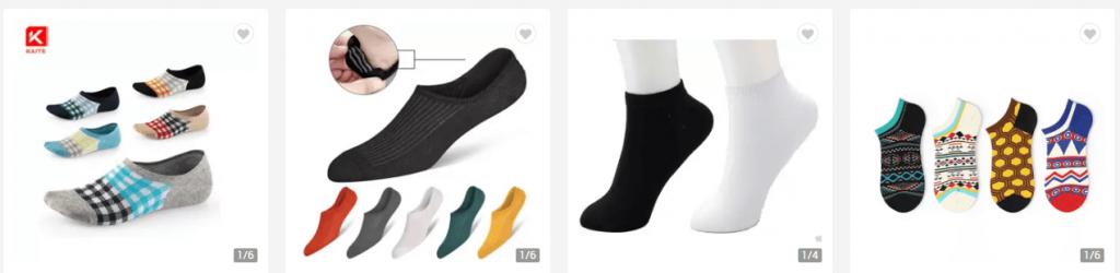 Men Liner Socks