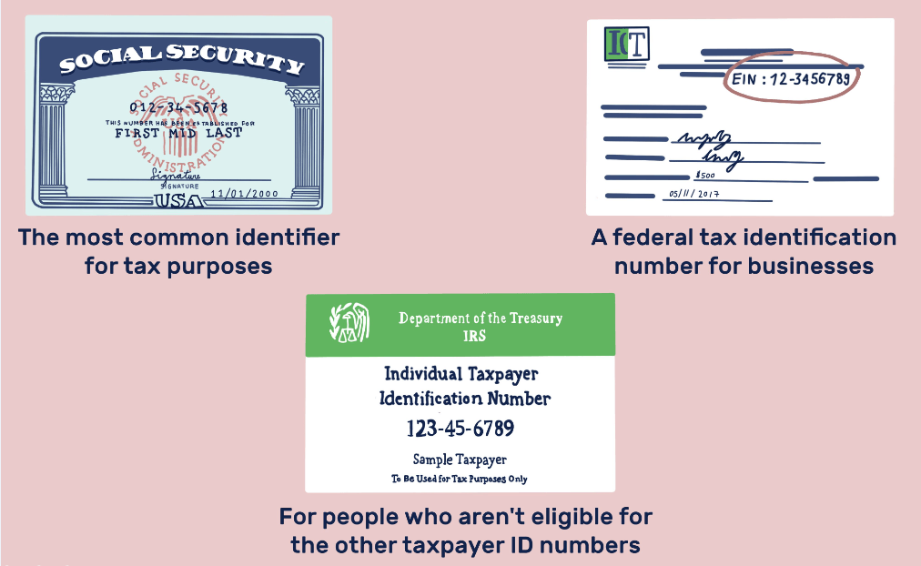 Tax ID numbers