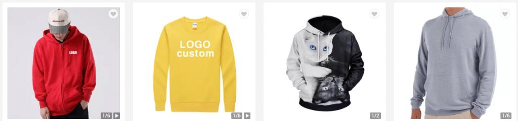 Choose a hoodie