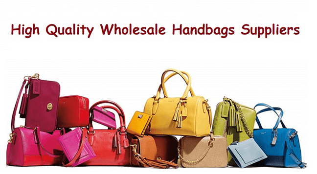 How to import wholesale handbags from China