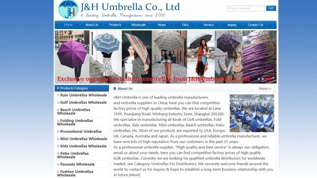 J & H Umbrella Company Limited