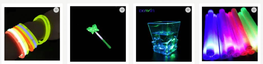 Light Up Toys Glow Stick Bracelets