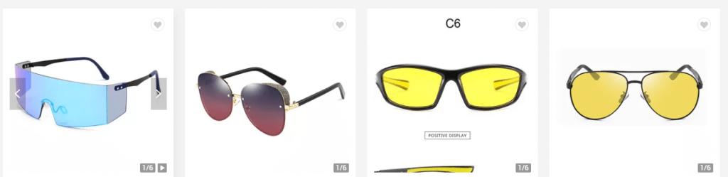 Polarized and Non-Polarized Sunglasses