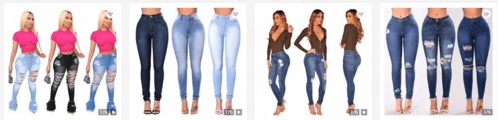 Wholesale Skinny Jeans from China