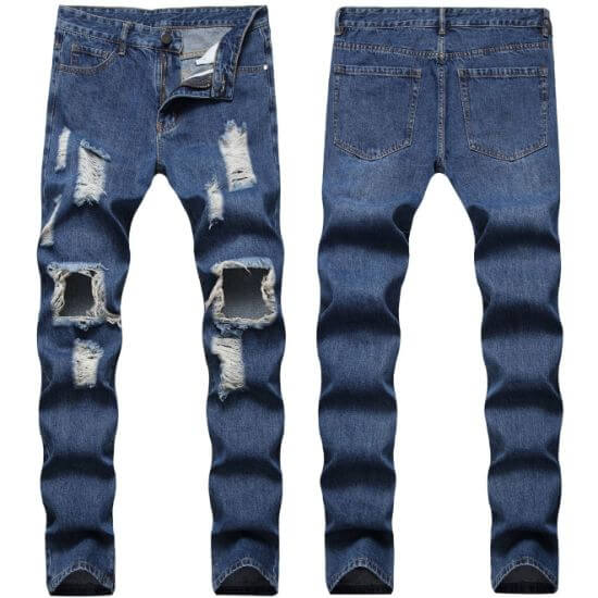 Wholesale ripped jeans from China