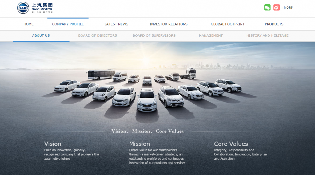 SAIC Motor Corporation