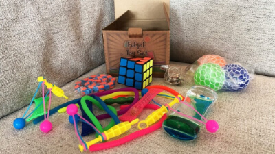 10.Sensory Toys Set
