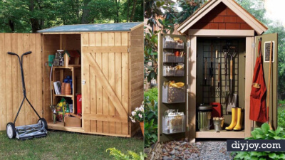 8. Garden Storage Box