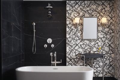 9. Bathroom Wallpaper
