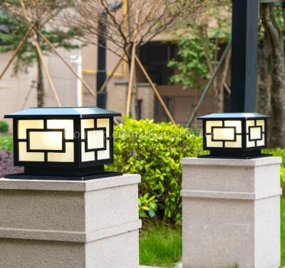 9.Pillar Lights