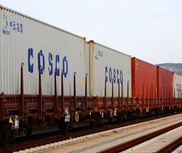 Home Appliances Rail Freight From Shipping