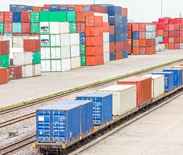 Watches Rail Freight From Shipping