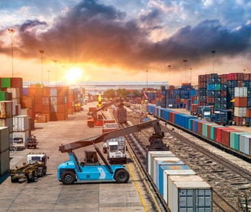 personal care products Rail Freight From Shipping