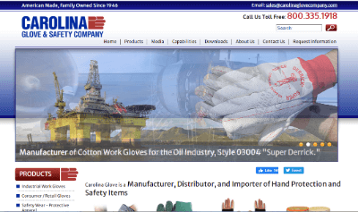 11. Carolina Glove & Safety Company