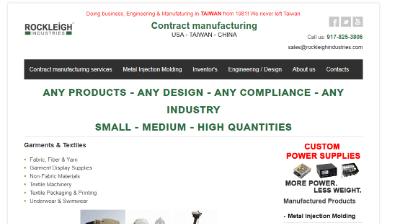 12.Rockleigh Industries, Inc.
