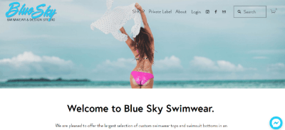 14.Blue Sky Swimwear