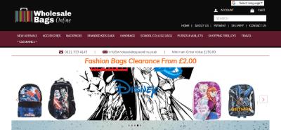 16.Wholesale Bags Online