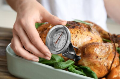 2.A meat thermometer