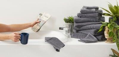 2.Brook linen towels