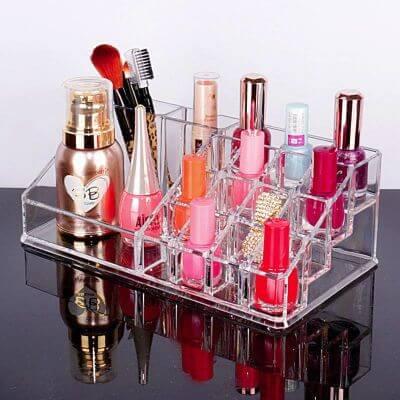 2.Makeup organizer